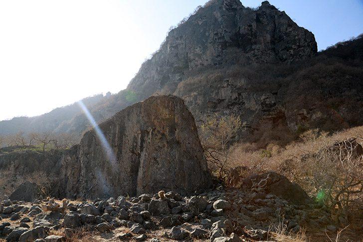 Ancient Sanctuary site at Khor Kharfot
