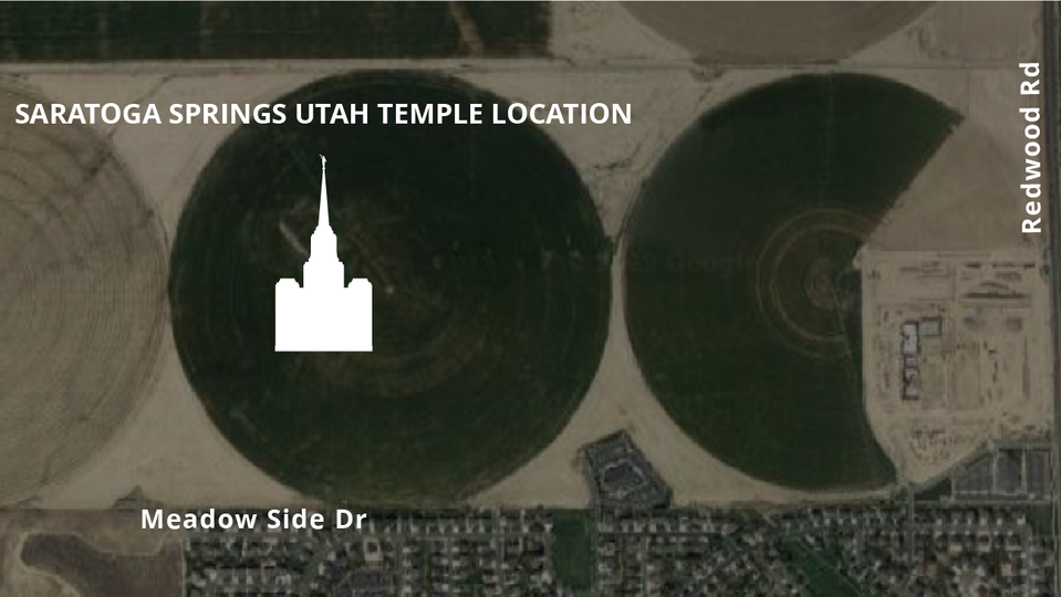 Church Releases Temple Plans For Saratoga Springs Utah