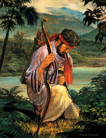 Enos Prays For the Lamanites