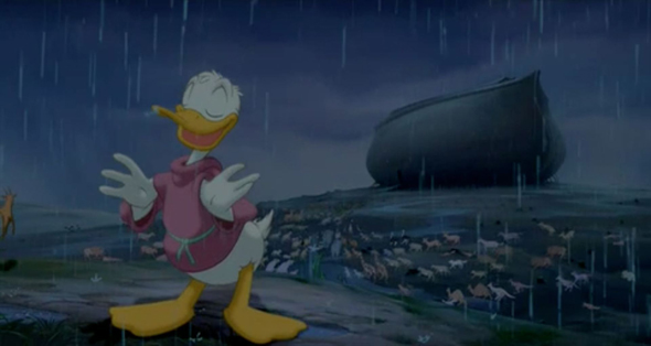 01-Donald Duck and Noah from Fantasia