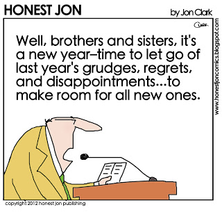 honest jon comic