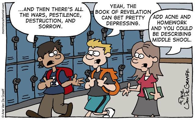 Cartoon Middle School Meridian Magazine